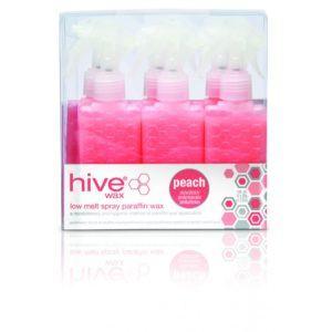 Hive Paraffin Wax Cartridge Sprays - Peach