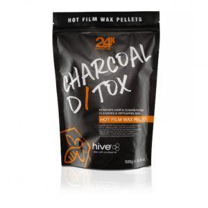 Hive Charcoal D/Tox Hot Film Wax Pellets