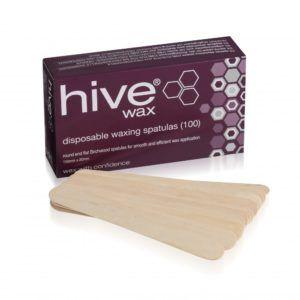 Hive Disposable Wooden Spatulas