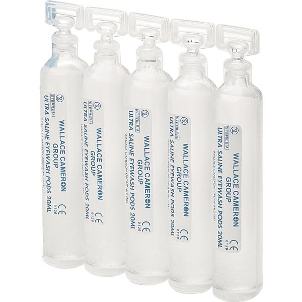 Sterile Saline Eyewash Pod