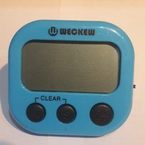 Blue Digital Timer