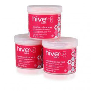Hive Sensitive Creme Wax 3 for 2 pack