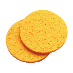 Cellulose Mask Removing Sponges