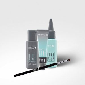 Sienna - At Home' Brow Tint Kit – Black, 1