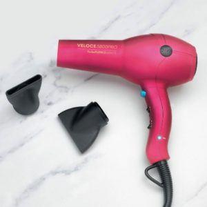 Diva Edit Veloce 3800 Pro Hairdryer - Pink
