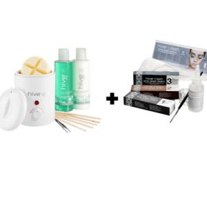 Hive Waxing and Eyelash/Eyebrow Tinting Kit