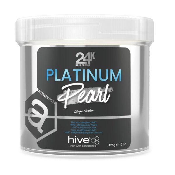 Hive Platinum Pearl Allergan Free Wax